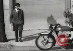 Image of parking problems Madrid Spain, 1966, second 57 stock footage video 65675061784