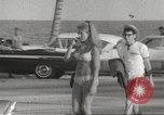 Image of American college students spring break 1960s Fort Lauderdale Florida USA, 1967, second 9 stock footage video 65675061798