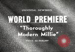 Image of world premier New York United States USA, 1967, second 2 stock footage video 65675061800