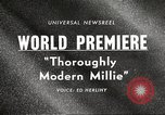Image of world premier New York United States USA, 1967, second 5 stock footage video 65675061800