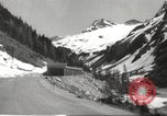 Image of new highway Austria, 1967, second 4 stock footage video 65675061808