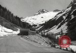 Image of new highway Austria, 1967, second 5 stock footage video 65675061808