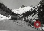 Image of new highway Austria, 1967, second 6 stock footage video 65675061808