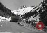 Image of new highway Austria, 1967, second 7 stock footage video 65675061808