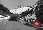 Image of new highway Austria, 1967, second 8 stock footage video 65675061808