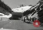 Image of new highway Austria, 1967, second 9 stock footage video 65675061808