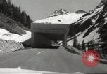 Image of new highway Austria, 1967, second 10 stock footage video 65675061808