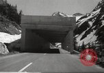Image of new highway Austria, 1967, second 11 stock footage video 65675061808