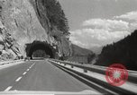 Image of new highway Austria, 1967, second 20 stock footage video 65675061808