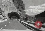 Image of new highway Austria, 1967, second 21 stock footage video 65675061808