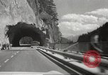 Image of new highway Austria, 1967, second 22 stock footage video 65675061808