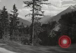 Image of new highway Austria, 1967, second 44 stock footage video 65675061808