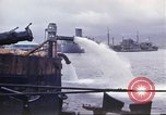 Image of pumping water Pearl Harbor Hawaii USA, 1942, second 16 stock footage video 65675061813