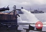 Image of pumping water Pearl Harbor Hawaii USA, 1942, second 20 stock footage video 65675061813