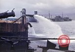 Image of pumping water Pearl Harbor Hawaii USA, 1942, second 23 stock footage video 65675061813