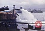 Image of pumping water Pearl Harbor Hawaii USA, 1942, second 24 stock footage video 65675061813