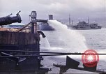 Image of pumping water Pearl Harbor Hawaii USA, 1942, second 28 stock footage video 65675061813
