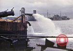 Image of pumping water Pearl Harbor Hawaii USA, 1942, second 31 stock footage video 65675061813