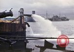 Image of pumping water Pearl Harbor Hawaii USA, 1942, second 32 stock footage video 65675061813