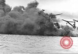 Image of attack on Pearl Harbor Pearl Harbor Hawaii USA, 1941, second 50 stock footage video 65675061818