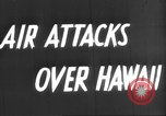 Image of attack on Pearl Harbor Pearl Harbor Hawaii USA, 1941, second 3 stock footage video 65675061820