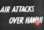 Image of attack on Pearl Harbor Pearl Harbor Hawaii USA, 1941, second 5 stock footage video 65675061820