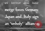 Image of Three Power Pact Germany, 1942, second 6 stock footage video 65675061830