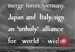Image of Three Power Pact Germany, 1942, second 8 stock footage video 65675061830