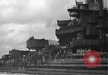 Image of Salvage and repair of the USS California (BB-44) Pearl Harbor Hawaii USA, 1942, second 8 stock footage video 65675061840