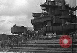 Image of Salvage and repair of the USS California (BB-44) Pearl Harbor Hawaii USA, 1942, second 13 stock footage video 65675061840