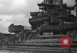 Image of Salvage and repair of the USS California (BB-44) Pearl Harbor Hawaii USA, 1942, second 14 stock footage video 65675061840