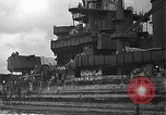 Image of Salvage and repair of the USS California (BB-44) Pearl Harbor Hawaii USA, 1942, second 17 stock footage video 65675061840