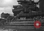 Image of Salvage and repair of the USS California (BB-44) Pearl Harbor Hawaii USA, 1942, second 18 stock footage video 65675061840