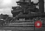 Image of Salvage and repair of the USS California (BB-44) Pearl Harbor Hawaii USA, 1942, second 19 stock footage video 65675061840