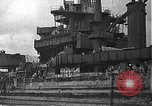 Image of Salvage and repair of the USS California (BB-44) Pearl Harbor Hawaii USA, 1942, second 20 stock footage video 65675061840