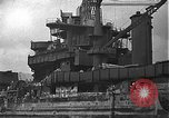 Image of Salvage and repair of the USS California (BB-44) Pearl Harbor Hawaii USA, 1942, second 22 stock footage video 65675061840