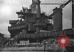 Image of Salvage and repair of the USS California (BB-44) Pearl Harbor Hawaii USA, 1942, second 24 stock footage video 65675061840
