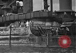 Image of Salvage and repair of the USS California (BB-44) Pearl Harbor Hawaii USA, 1942, second 33 stock footage video 65675061840