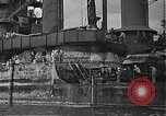 Image of Salvage and repair of the USS California (BB-44) Pearl Harbor Hawaii USA, 1942, second 35 stock footage video 65675061840