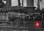 Image of Salvage and repair of the USS California (BB-44) Pearl Harbor Hawaii USA, 1942, second 40 stock footage video 65675061840