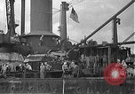 Image of Salvage and repair of the USS California (BB-44) Pearl Harbor Hawaii USA, 1942, second 52 stock footage video 65675061840