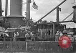 Image of Salvage and repair of the USS California (BB-44) Pearl Harbor Hawaii USA, 1942, second 55 stock footage video 65675061840