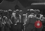 Image of Douglas SBD Dauntless aircraft start and taxi Pearl Harbor Hawaii USA, 1942, second 11 stock footage video 65675061841