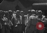 Image of Douglas SBD Dauntless aircraft start and taxi Pearl Harbor Hawaii USA, 1942, second 12 stock footage video 65675061841