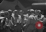 Image of Douglas SBD Dauntless aircraft start and taxi Pearl Harbor Hawaii USA, 1942, second 18 stock footage video 65675061841