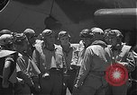 Image of Douglas SBD Dauntless aircraft start and taxi Pearl Harbor Hawaii USA, 1942, second 19 stock footage video 65675061841
