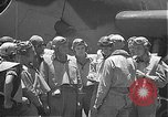Image of Douglas SBD Dauntless aircraft start and taxi Pearl Harbor Hawaii USA, 1942, second 20 stock footage video 65675061841