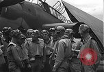 Image of Douglas SBD Dauntless aircraft start and taxi Pearl Harbor Hawaii USA, 1942, second 23 stock footage video 65675061841