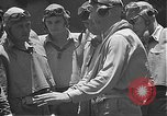 Image of Douglas SBD Dauntless aircraft start and taxi Pearl Harbor Hawaii USA, 1942, second 47 stock footage video 65675061841