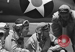 Image of United States pilots Kaneohe Bay Hawaii USA, 1942, second 56 stock footage video 65675061846